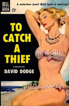 "The cover artwork by Mike Ludlow for ""To Catch A Thief"""