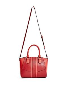 GUESS Womens Tambako Pebbled Satchel >>> For more information, visit image link. Satchel, Crossbody Bag, Guess Handbags, Coin Bag, Evening Bags, Image Link, Shoulder Bag, Wallet, Purses