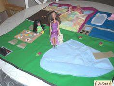La  Casa della barbie da viaggio creation by JenCrea www.jencrea.135.it