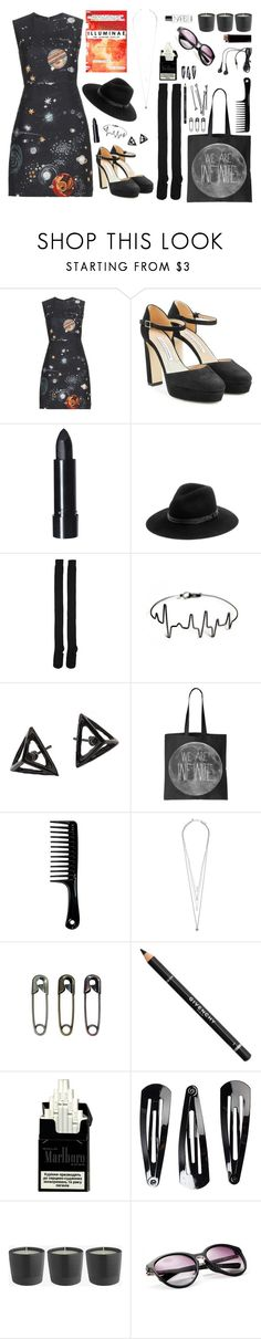 """My small world lvl 5"" by freakoholic ❤ liked on Polyvore featuring Valentino, Amie, Diane Von Furstenberg, rag & bone, Karen Walker, Jigsaw, Tim Holtz, Givenchy, BOBBY and NLY Accessories"