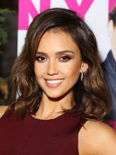 Get Jessica Alba's flawless look from the NYLON party