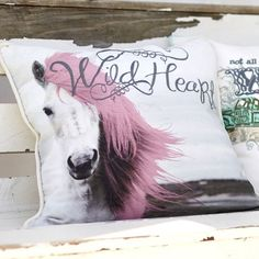Junk Gypsy Wild At Heart Pillow Cover   PBteen