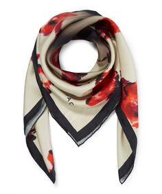Marc Jacobs Floral Brocade Silk Foulard Scarf | Accessories | Liberty.co.uk