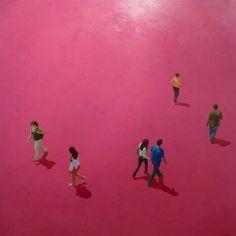 07-Artist-Eva Navarro. Title-Magenta street. ENVIE D´ART