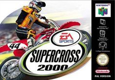 Supercross 2000 (N64… Nintendo 64 Games, Electronic Art, Lets Play, I Am Game, Playstation, Graphics Game, Sony, Amazon, Collection