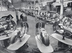 Piaggio Vespa VBN Factory body work filling prime before paint.