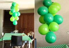 balloon chandelier :: via salty pineapple