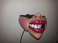 Female Ventriloquist mask ith nose