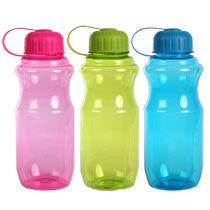 Plastic Water Bottles with Screw-On Lids, 28 oz. at Deals