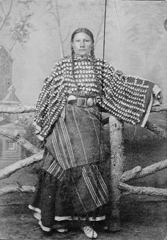 Daughter of Black Short Nose - Southern Cheyenne - 1890