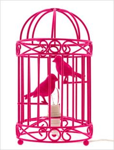 The French Bedroom Company :: sweet little lamp Cool Lights For Bedroom, Bedroom Lighting, Birdcage Lamp, Cheap Table Lamps, Candle Lamp, Candles, Cool Lamps, Bird Cages, Pink Room
