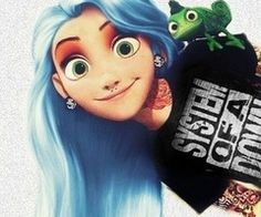 punk disney characters - Google Search