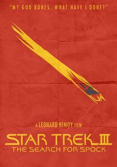 The Search for Spock. Star Trek Characters, Star Trek Movies, Star Trek Posters, Star Trek Iii, Starfleet Academy, Star Trek Starships, Star Trek Original, Saga, Leonard Nimoy