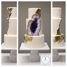 Have you seen the ah-mazingly realistic amethyst cake that's gone viral? Now you can make your own with help from the original designer! Find out more about this jaw-dropping design and how you can make a geode cake at home.