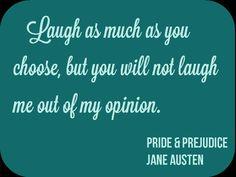 Jane Austen, Pride & Prejudice