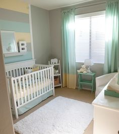 No I'm not planning on having a baby anytime soon but I really like the blueish green color and could see using it in a adult bedroom, I repeat I am not planning on having a baby anytime soon