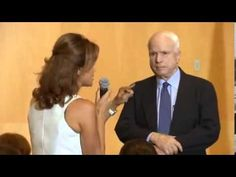 SYRIAN WOMAN RIPS MCCAIN A NEW ONE FOR HIS SUPPORT OF SYRIAN WAR. A Syrian woman who lost a member of her family at the hands of the US-backed Syrian rebels, who would benefit from a US strike against Syria, one Senator John McCain supports, rips him a new one about spilling more blood.