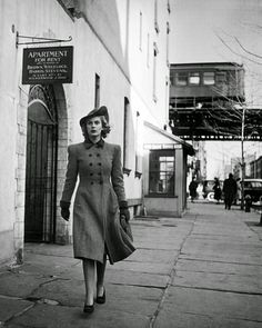 vintage everyday: A Day in the Life of a Working Girl in 1940