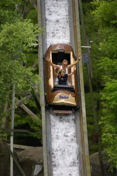 """What is opening on April and is America's largest free-admission park? Knoebels Amusement Resort in Elysburg! Come see why it was voted """"Best Park for Families"""" by the National Amusement Park Knoebels Amusement Park, Amusement Parks, Rv Travel, Family Travel, Hershey Park, Seaside Heights, Keystone State, Historical Association, Places Worth Visiting"""