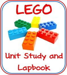 Free Lego Lapbook and Unit Study Used Legos, Lego Activities, Free Lego, Homeschool Math, Homeschooling Resources, Disability Awareness, Ted Talks, Fun Learning, The Unit