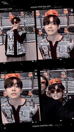 Kim Taehyung Funny, Kookie Bts, V Taehyung, Foto Bts, Bts Photo, Taekook, Photo Kawaii, Bts Halloween, Bts Pictures