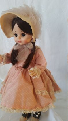 Vintage Collectable Doll, Rebecca, Madame Alexander Doll, 1970's doll, Porcelain Doll, made in New York, Madame Alexander, vintage doll by Vintagepetalpushers on Etsy