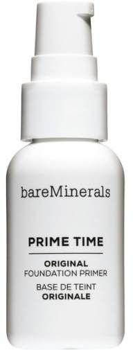 bareMinerals(R) Prime Time Original Foundation Primer Flawless Foundation Application, Foundation Primer, Mineral Foundation, Powder Foundation, Primer Base, Face Primer, Bareminerals Original, Minerals