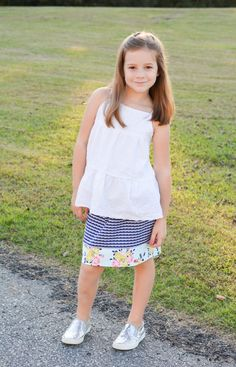 Idle Wild Knit skirt by Pattern Anthology - Skirt tutorial by Crafterhours