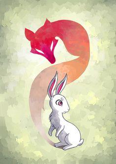 animal,anime,art,bunny,children,cute-ce308f4ffa34b338d6df7d28c2e8f404_h.jpg (353×500)