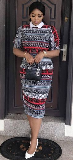The right picture collection of 2018 latest ankara styles for ladies. Every woman deserves to rock the latest ankara styles of 2018 African Fashion Ankara, Ghanaian Fashion, African Inspired Fashion, African Print Fashion, Africa Fashion, Men's Fashion, Fashion Rings, African Dresses For Women, African Print Dresses