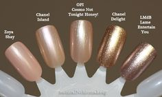 Chanel Island and Delight Le Vernis Swatches and Review ...