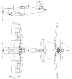 File:F4U-1 Corsair.svg