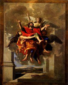Nicolas Poussin - Ecstasy of Saint Paul (1649-1650)