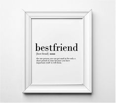 Self Love Quote Discover Best Friends Definition Funny Gift Idea for Best Friends Funny Art Print Word Art Funny Friendship Printable Art Friendship Wall Art Birthday Gifts For Best Friend, Best Friend Gifts, Gifts For Friends, Words For Friends, Long Time Friends Quotes, Words For Best Friend, Quotes For Best Friends, Real Friends, Happy Birthday