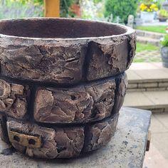 Easter Island, Large Pots, Bonsai, Diy, Cement Art, Decorative Vases, Rocks, Craft, Cement Pots