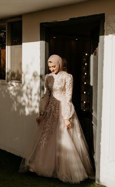 Muslim Prom Dress, Muslimah Wedding Dress, Hijab Evening Dress, Hijab Dress Party, Hijab Wedding Dresses, Wedding Dress Sleeves, Event Dresses, Prom Party Dresses, Bridal Dresses