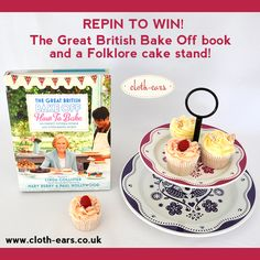 The Great British Bake Off Competition One! Pin to win a Bake Off book & a set of three Regency cake tins from www.cloth-ears.co.uk #GBBO #GBBOcomp1 #competition