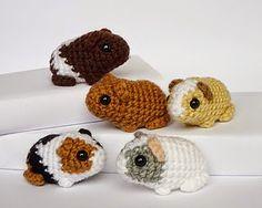 2000 Free Amigurumi Patterns: Free cute guinea pigs crochet pattern