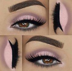 Imagine eyes, lips, and makeup