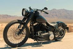 """softail bobber with 21"""" front wheel 
