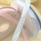 Gingham Ribbon to wrap the favours