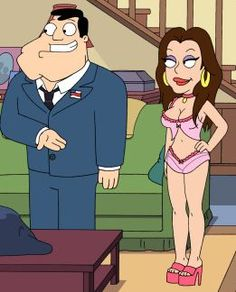 kat Dennings is in american dad - American Dad! Cartoon Shows, Cartoon Characters, Fictional Characters, Good Morning Usa, Kat Dennings, American Dad, Speed Paint, Comic Sans, Animated Cartoons