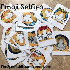 Emoji Selfies from Speech Room News