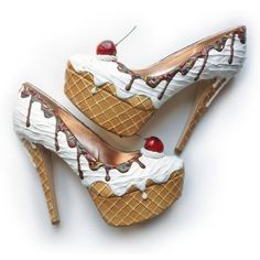 Ice cream cone shoes