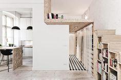 3 case piccole con soppalco da copiare per vivere in meno di 35mq! - Elle Decor Italia