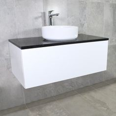 Eden Wall Mount Vanity Cabinet without Top 900mm | Highgrove Bathrooms