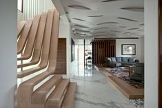 Wooden staircase - Arquitectura in Movimento Workshop