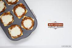 Clavel's Cook: Mini lasanhas saudáveis e divertidas