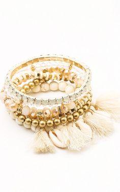 c09fc1f27255 z Arm Candy Ivory Bracelet Stack. z Arm Candy Ivory Bracelet Stack. The Coral  Cactus Boutique