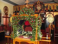 Eastern Orthodox -- outer altar station